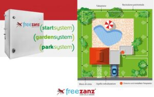 Impianto antizanzare FreeZanz